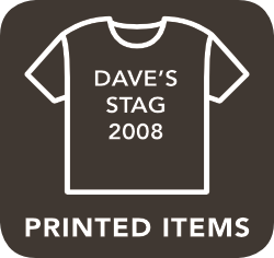 icon of a printed item which is unacceptable for recycling