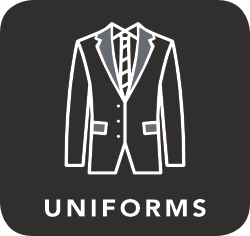 icon of a uniform which is unacceptable for recycling