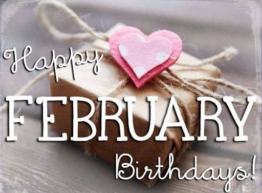 Happy February Birthdays!