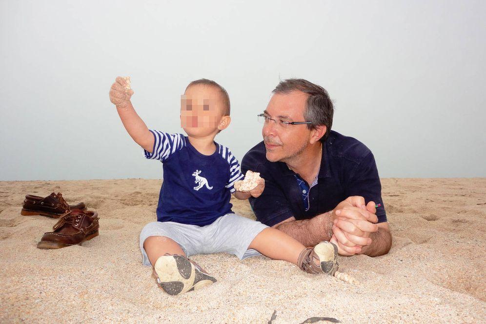 Foto: Foto del hijo de Robert a los 20 días de nacer. (EC)