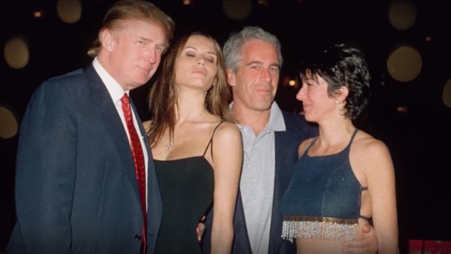 Donald Trump y Jeffrey Esptein/ Netflix