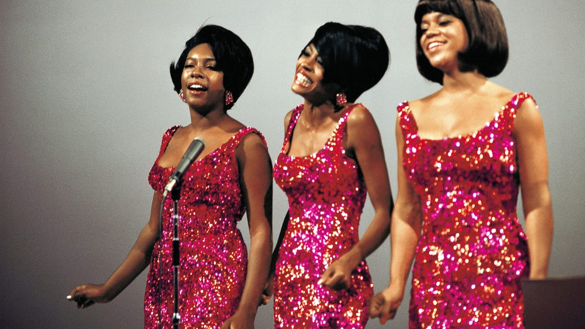 Members of Motown singing group The Supremes are Mary Wilson, from left, Diana Ross and Florence Ballard.