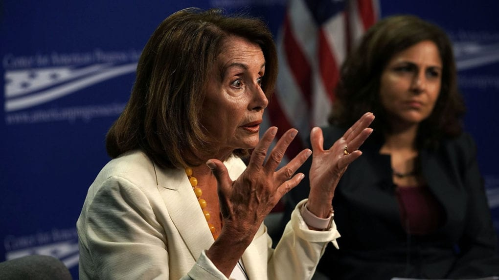 Pelosi Speaks At Center For American Progress On Corruption And Policymaking