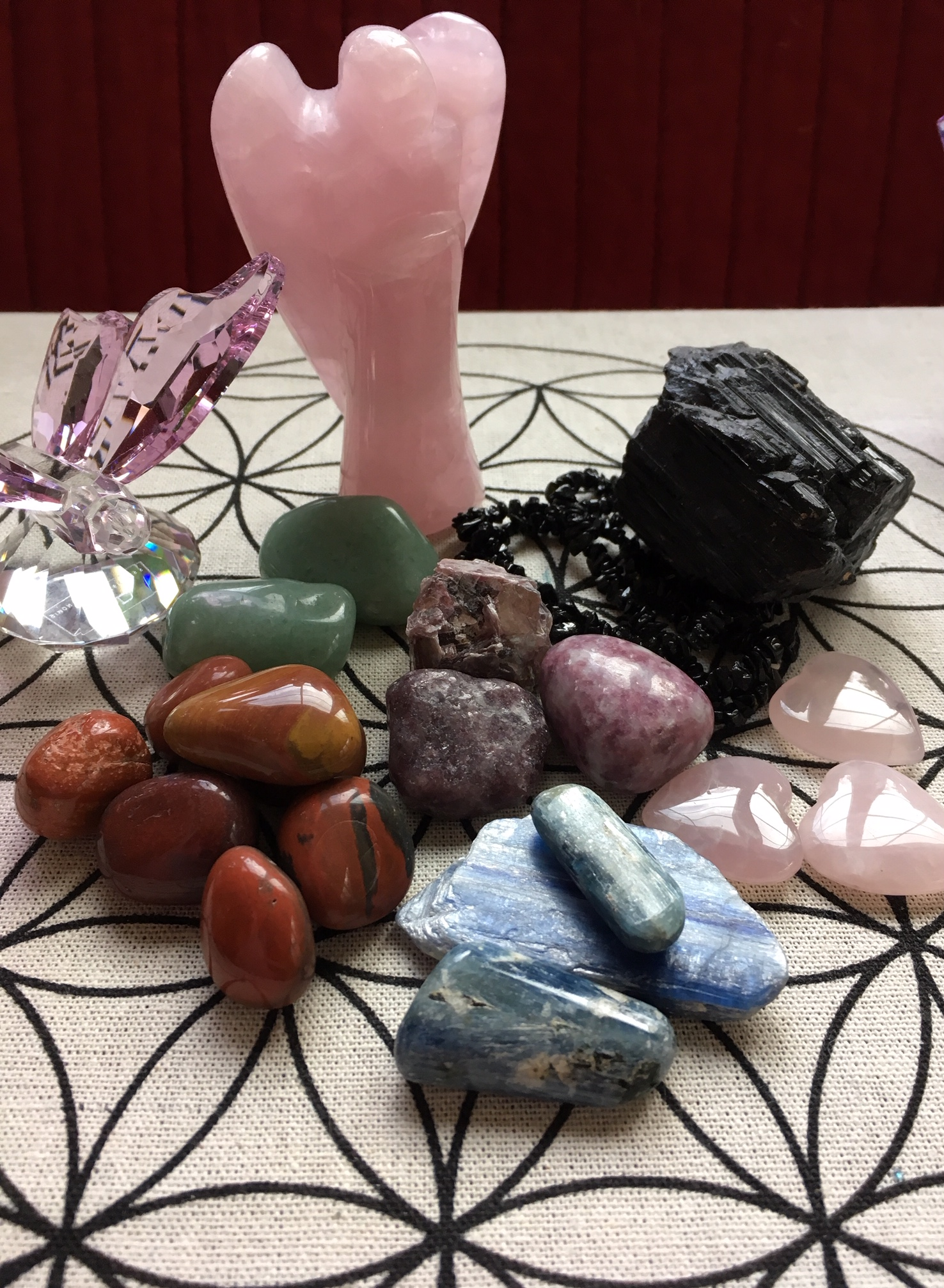 Crystals for Balance during the Holiday Season by Kathleen Johnson