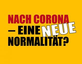Spiegel Géza  Nach Corona – eine neue Normalität? Kunstförderungen Galerien