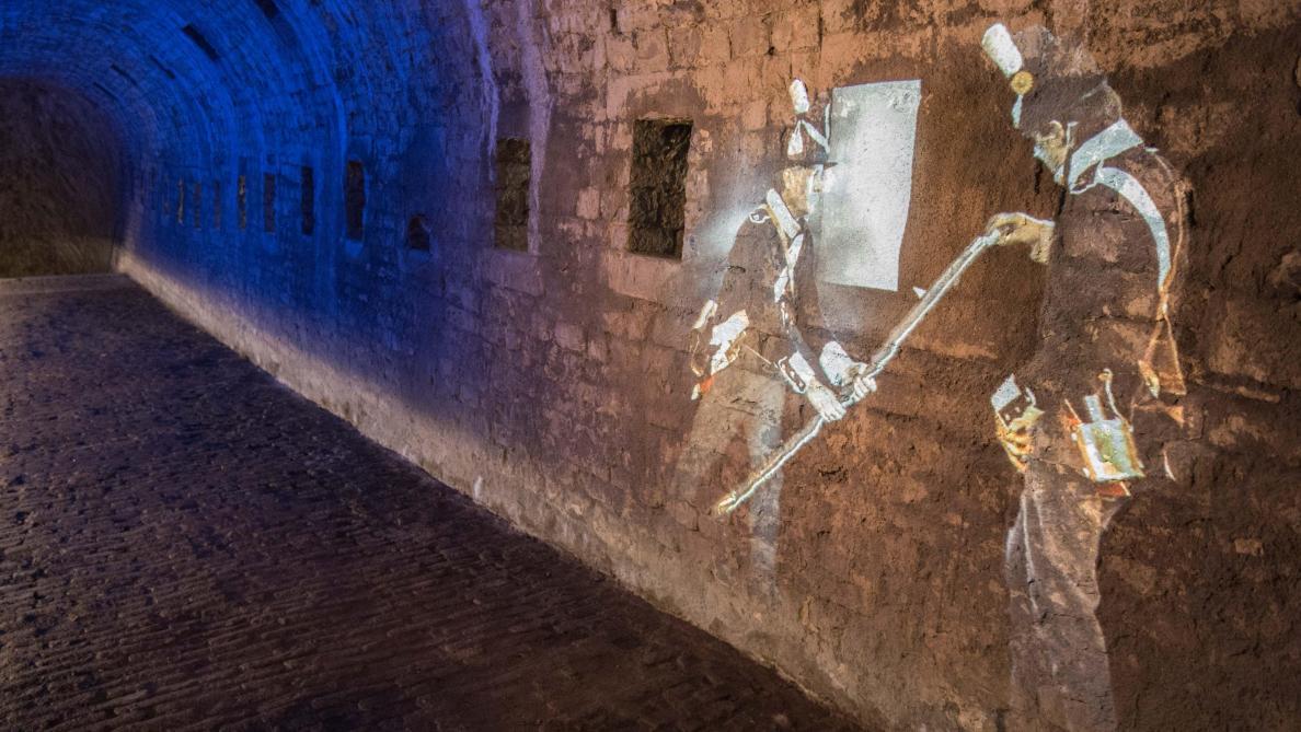 Résultat de recherche d'images pour souterrains citadelle namur photos
