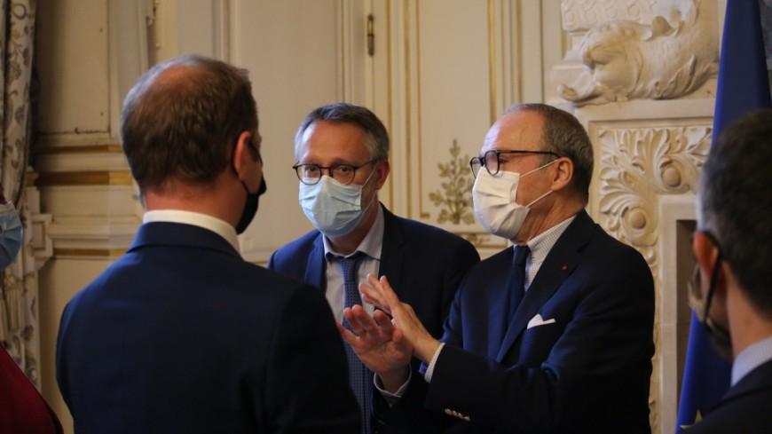 Sécurité dans la Métropole de Lyon : le préfet Mailhos dresse un bilan annuel avec six maires et le procureur