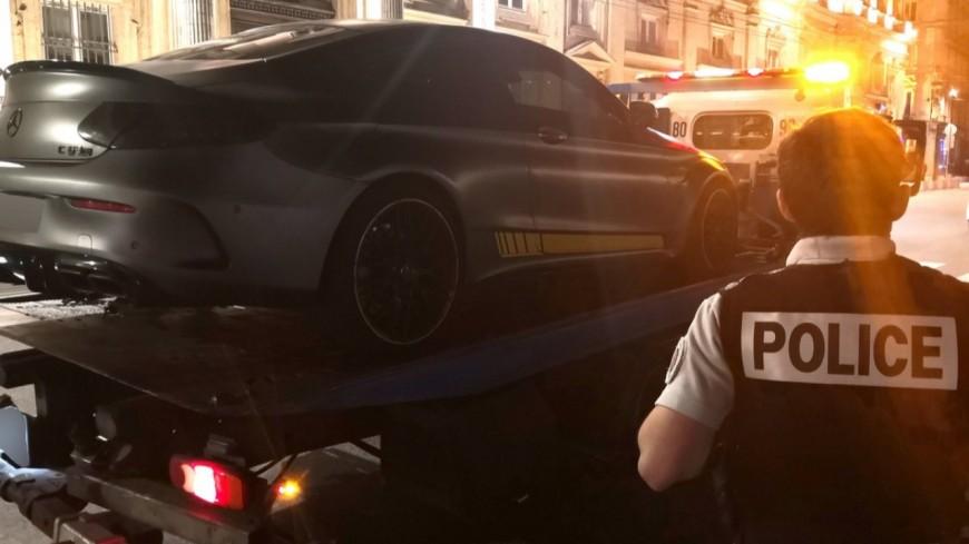 Lyon : un automobiliste interpellé après des rodéos en centre-ville