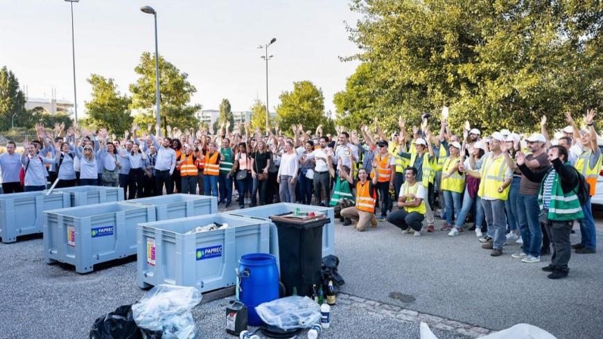 700 kg de déchets collectés lors du premier Clean in Lyon