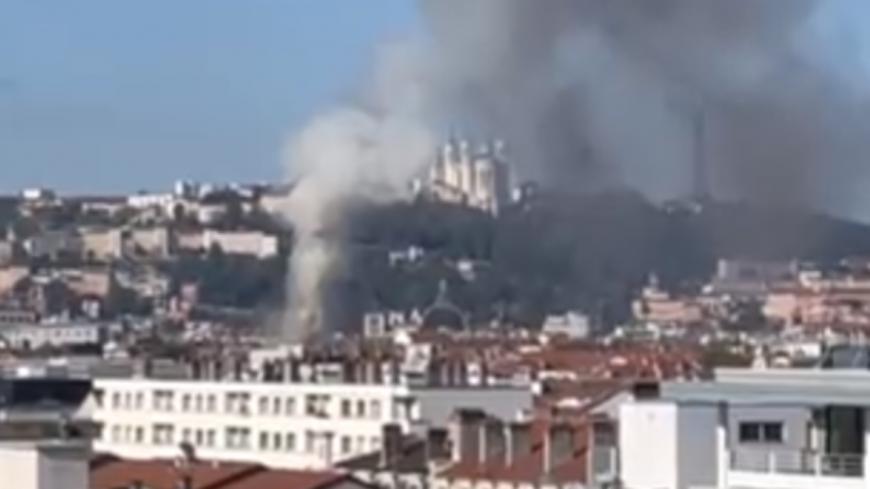 Lyon : important incendie à la Part-Dieu, un habitant échappe aux flammes en escaladant une façade
