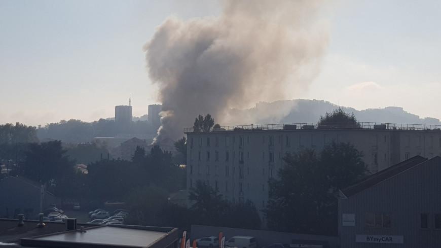 Incendie à Lyon : le feu est circonscrit, un brûlé à déplorer