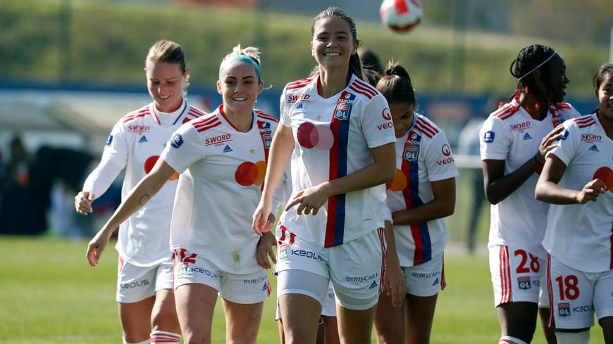 L'OL féminin l'emporte largement face à Montpellier (0-5)