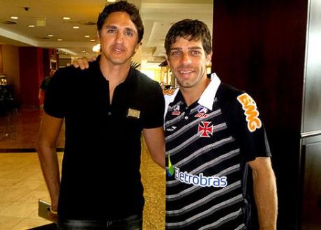 Edmilson avec Juninho à droite - DR