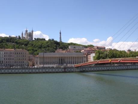 Le palais de justice, théâtre de la rixe - LyonMag.com