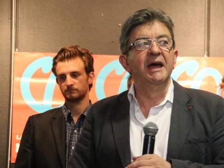 Andrea Kotarac et Jean-Luc Mélenchon - LyonMag