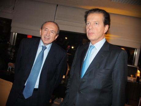 Gérard Collomb et Dominique Perben, qui décidera qui sera candidat LREM en 2020 - LyonMag