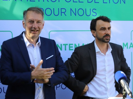 Bruno Bernard et Grégory Doucet - LyonMag