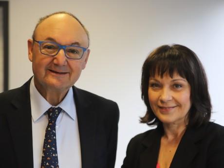 Gérard Angel et Sylvie Guillaume - LyonMag
