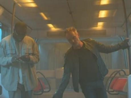 Gims et Sting dans le métro lyonnais - DR/M6