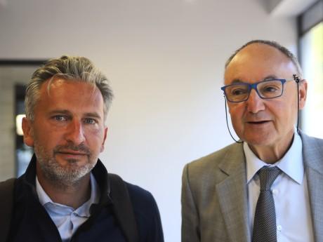 Cédric Denoyel et Gérard Angel - LyonMag