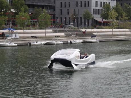 Le Seabubbles testé à Lyon en 2017 - LyonMag