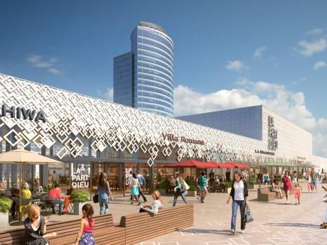 Les visuels pour le futur toit-terrasse de la Part-Dieu - DR