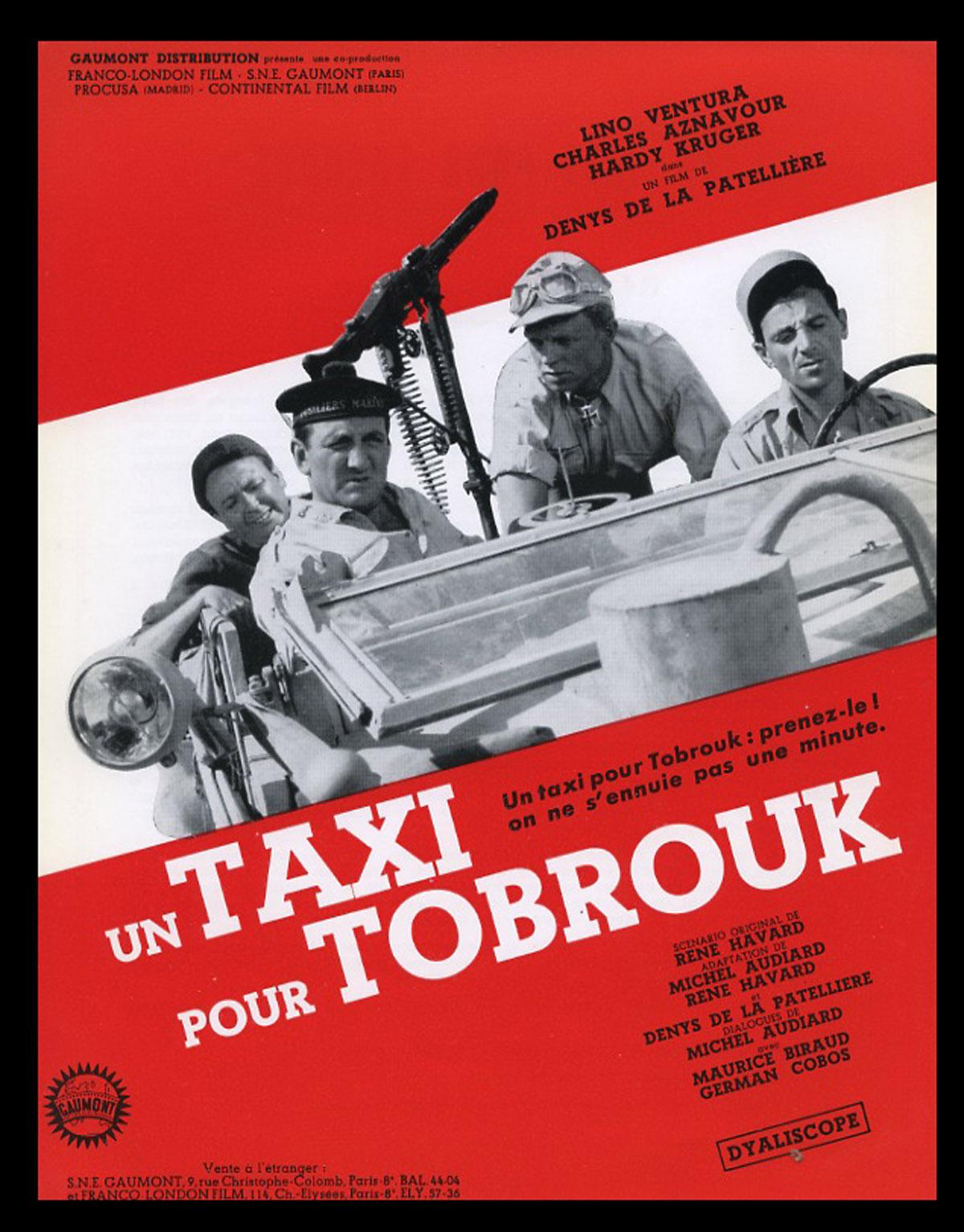 Résultat de recherche d'images pour Un taxi pour tobrouk photos