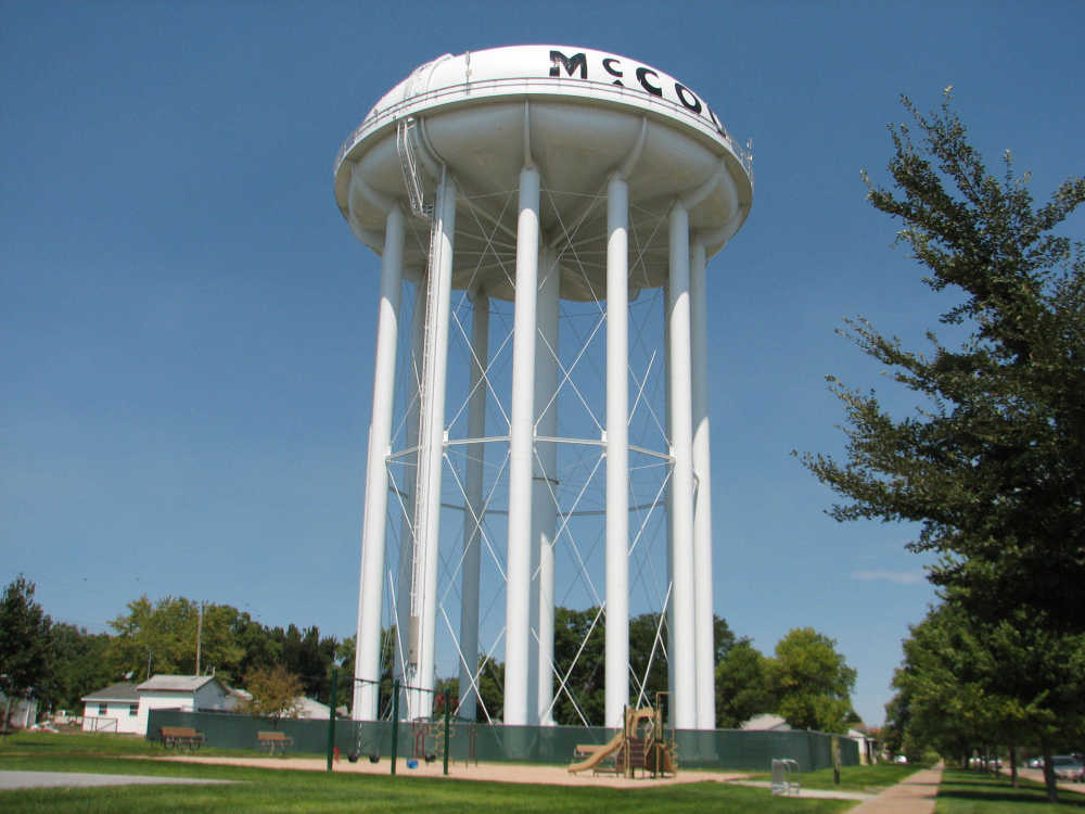 Image result for water tower in mccook nebraska