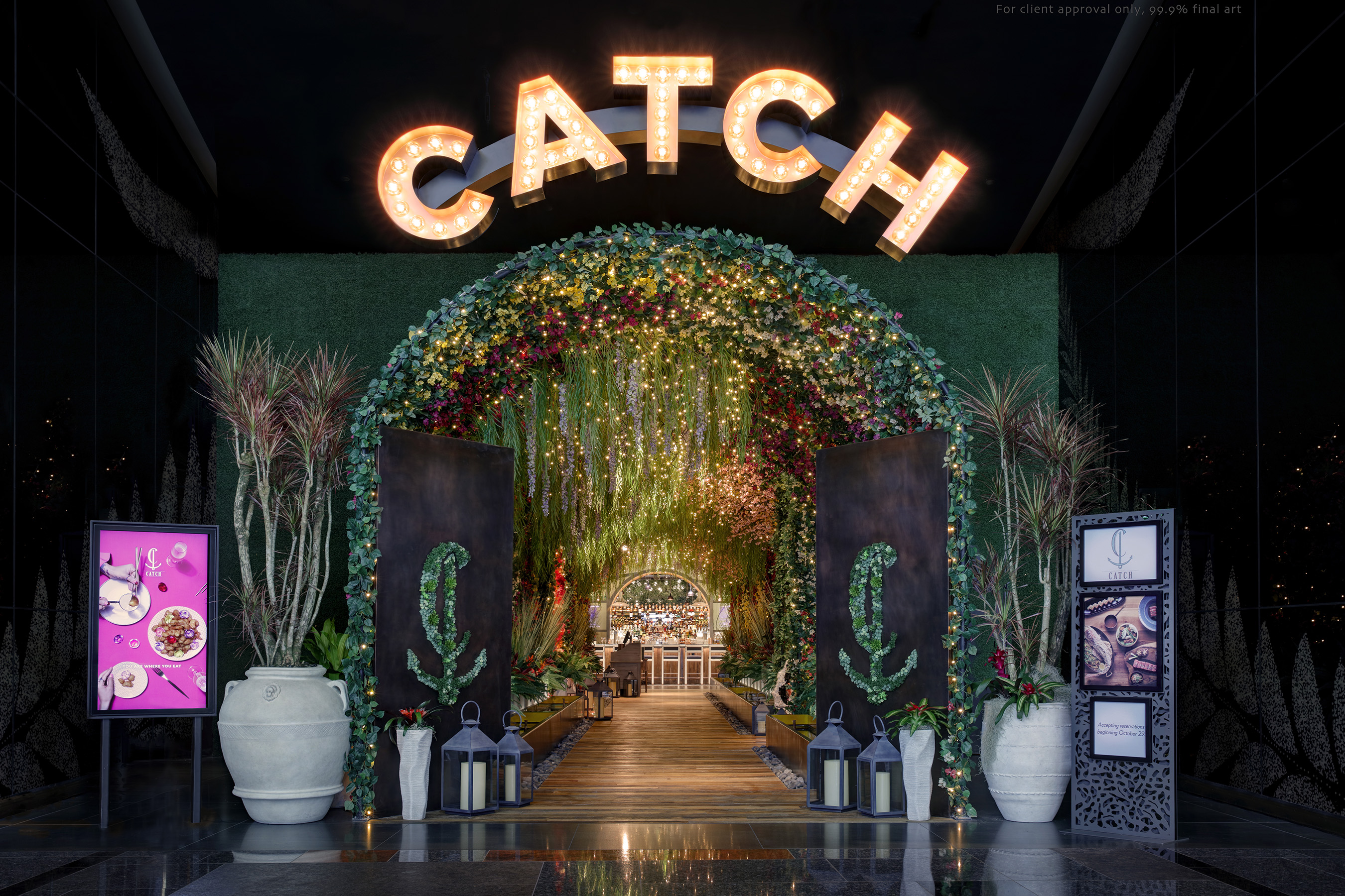 Image result for CATCH Las Vegas inside Aria""