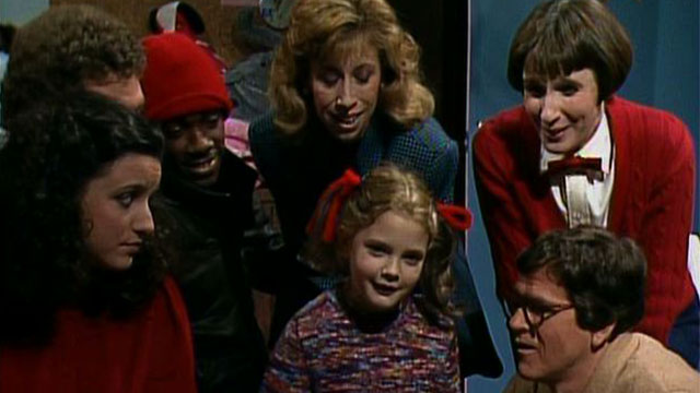 Image result for drew barrymore saturday night live 1982