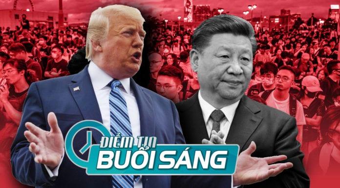 Trump ca ngợi Tập là 'nhà lãnh đạo thương dân', muốn gặp để bàn về Hongkong