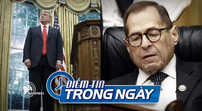 Video Ủy ban Hạ Viện Mỹ chuẩn bị thủ tục luận tội TT Trump