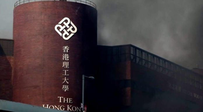 Đại Học Bách Khoa Hồng Kông tưng bừng khói lửa