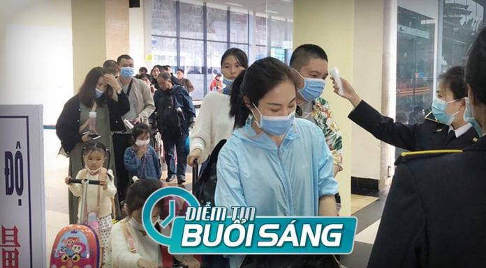 Hơn 5,000 người Trung Quốc vẫn vào Việt Nam làm việc giữa dịch COVID-19