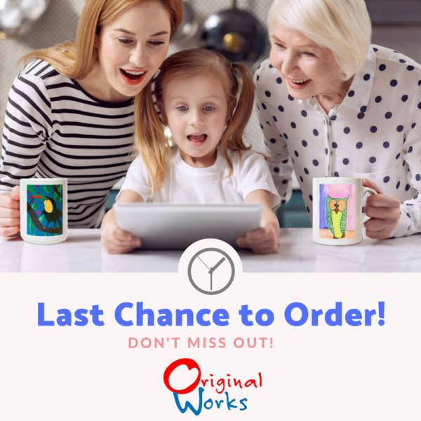 Last Chance to Order from Original Works Fundraiser