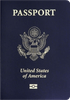 Passport cover of United States of America
