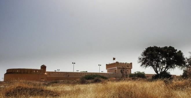 El centro para menores extranjeros no acompañados Fuerte de la Purísima, de Melilla.- JOSÉ PALAZÓN