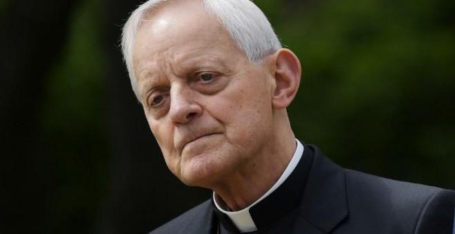 El cardenal Donald Wuerl, exobispo de Pittsburgh, acusado de ocultar los casos de abusos. - AFP