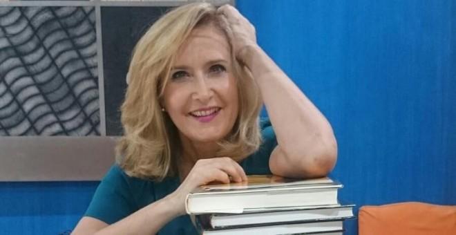 La periodista y escritora Nieves Herrero en una imagen de archivo. / TWITTER DE NIEVES HERRERO