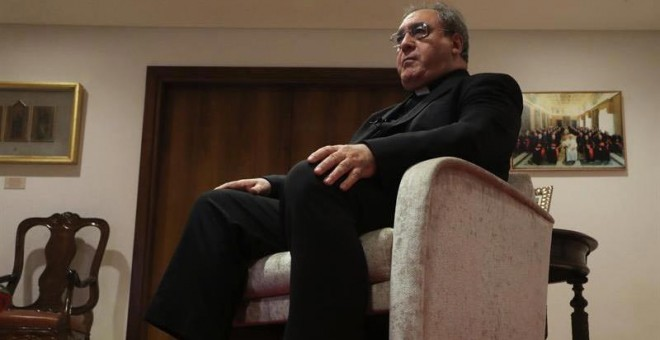 El secretario general de la Conferencia Episcopal Española, José María Gil Tamayo. (ZIPO | EFE)