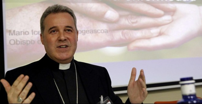 El obispo de Bilbao, Mario Iceta. EFE/Archivo