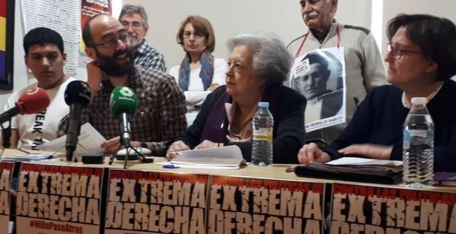 Presentación del manifiesto 'Contra las políticas de extrema derecha, ¡Ni un paso atrás! / Marisa Kohan-Público