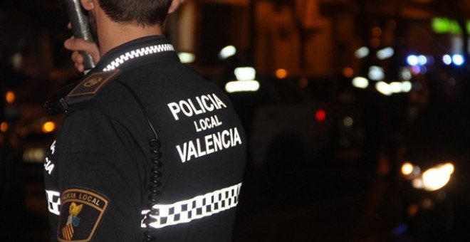 Agentes de la Policía Local de València./Europa Press