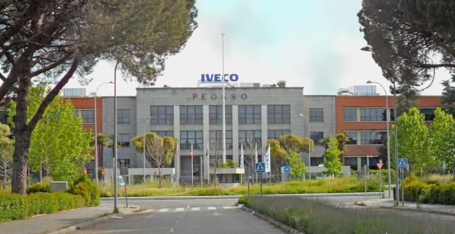 Fábrica de camiones de Pegaso-Iveco en Madrid.