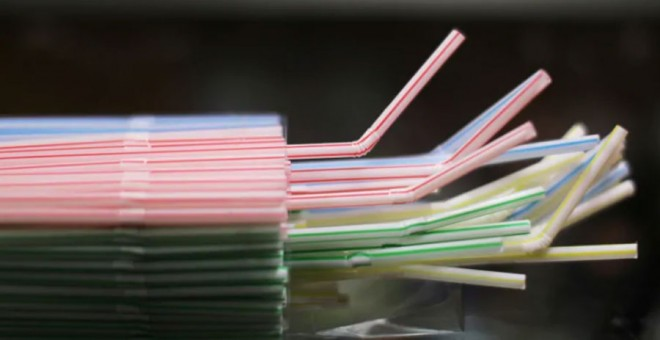 Pajitas de plástico. REUTERS