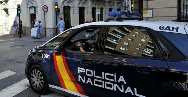 Fotografía de archivo de un coche de la Policía Nacional. - EUROPA PRESS