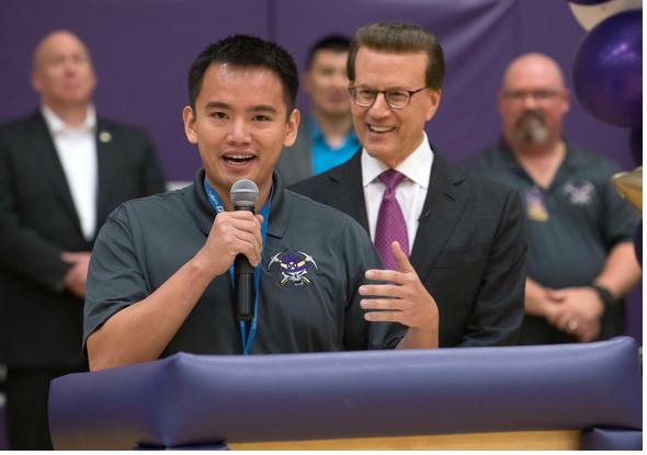 Giáo viên trung học Hoa Kỳ gốc Việt được trao giải Milken Educator Award