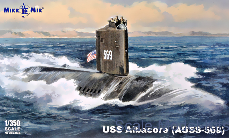 USS Albacore (AGSS-569) submarine