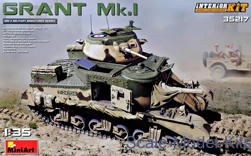 GRANT Mk.I (Interior Kit)