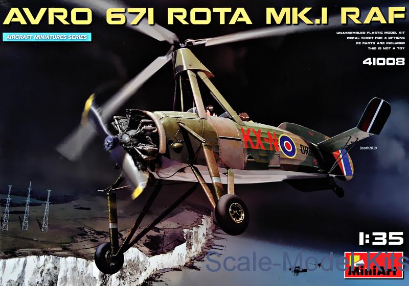 avro 671 rota mk.1 raf